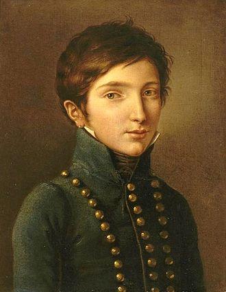 Napoléon Louis Bonaparte - Image: Cottrau Napoléon Louis Bonaparte (1804 1831)