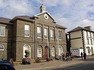 Edward Haycock Sr. - County Hall, Market Street, Aberaeron1833-4