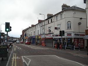 Canton, Cardiff - Image: Cowbridge Road East shops