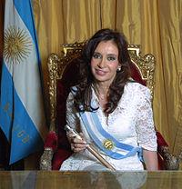 Foto ufficiale della presidenta
