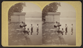 Crosbyside dock, Lake George, Aug. 28, 1877, by Stoddard, Seneca Ray, 1844-1917 , 1844-1917.png