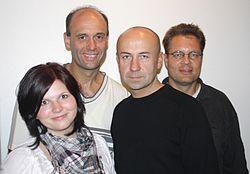 Crönert, Blazek, Lesch, Czacharowski (v.l.n.r.)