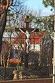 Crucifix at the Saint Anna Church in Árpádföld in February 2020.jpg