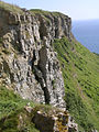 Crumbling limestone cliffs of Emmetts Hill, Isle of Purbeck - geograph.org.uk - 27891.jpg