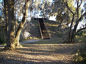 Crystal River Archaeological State Park - Temple mound