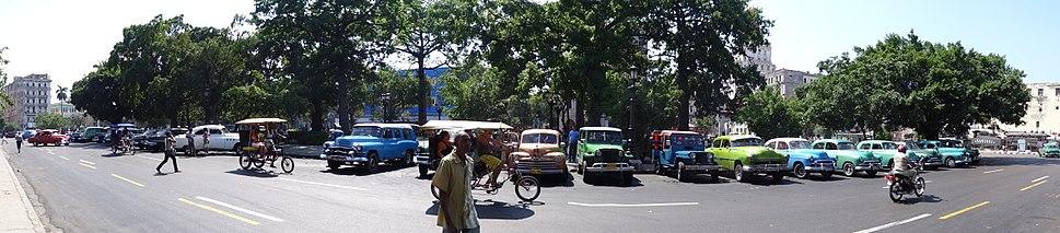 Cuba, Havana, cars in 2014