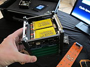 CubeSat in hand