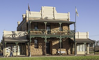 Cue, Western Australia - Image: Cue Shire Offices