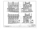 Curtis-Devin House, 101 North Main Street, Mount Vernon, Knox County, OH HABS OHIO,42-MOVER,1- (sheet 1 of 5).png