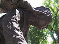 Détail de la statue, Hopital Général, Qc.jpg
