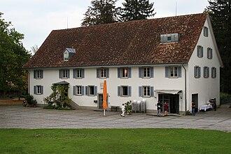Dübendorf - Obere Mühle, the cultural centre of Dübendorf