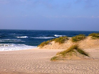 Tourism in Germany - Dune on the North Frisian island of Sylt