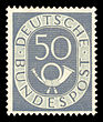 DBP 1951 134 Posthorn.jpg