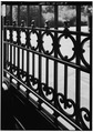 DETAIL OF IRON GATE - Linden Towers Gates, Middlefield Road at James Lane, Atherton, San Mateo County, CA HABS CAL,41-ATH,1-8.tif