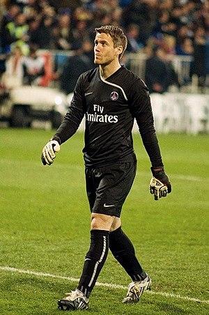 Mickaël Landreau - Landreau with PSG in 2009