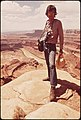 DOCUMERICA PHOTOGRAPHER, DAVID HISER, AT DEAD HORSE POINT - NARA - 545607.jpg