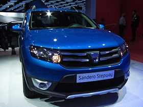 Sandero Dacia Stepway 2013 on Dacia Sandero Ii Stepway Constructeur Dacia Annees De Production 2013