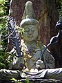 Daisho-in Temple, Statue of Monjushiri - panoramio.jpg