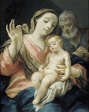 Giovanni Gioseffo dal Sole - Image: Dal Sole Sacra famiglia