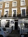 Dame Maud McCarthy - 47 Markham Square Kensington, London SW3.JPG