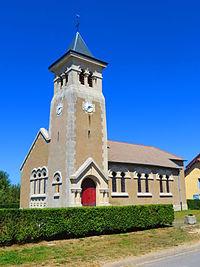 Damloup L'église Saint-Loup.JPG