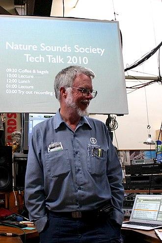 "Dan Dugan (audio engineer) - Hosting a ""Tech Talk"" for nature sounds recordists"
