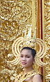 Dancing art Thai ancient show in the Wat Phra Thaen Sila At fair 08.jpg