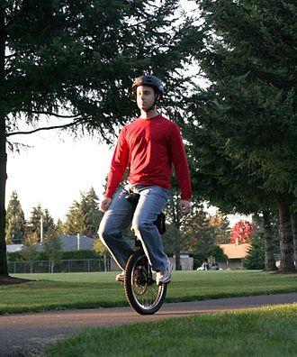 Self-balancing unicycle - Image: Daniel Wood SBU