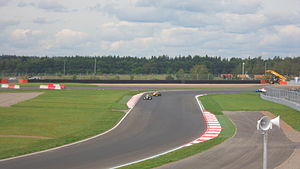 2012 Eurocup Formula Renault 2.0 - Daniil Kvyat leads Stoffel Vandoorne in the first race at Moscow Raceway, the track's first major event. Kvyat won both races in Moscow to take the championship lead by one point from Vandoorne.