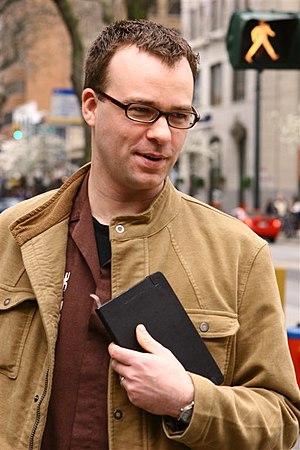 Canadian writer Darren Barefoot.
