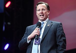 Dave Brat - Dave Brat speaking at an event in February 2016.