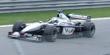 Photo de la McLaren MP4-15 de Coulthard au Canada