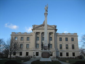 Sycamore Historic District - The DeKalb County Courthouse