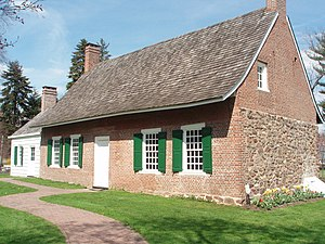 Rockland County, New York - DeWint House (circa 1700) is the oldest home in Rockland County