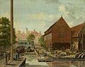 De scheepstimmerwerf 'D'Hollandsche Tuin' op het Bickers Eiland te Amsterdam. Rijksmuseum SK-C-1539.jpeg