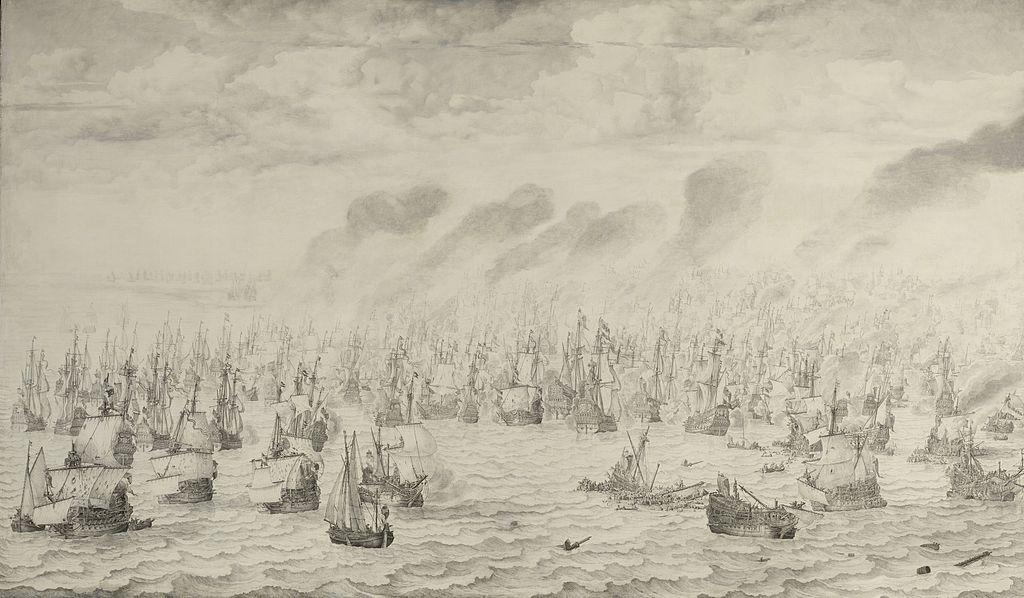 Willem Van de Velde Aug. 10/1653