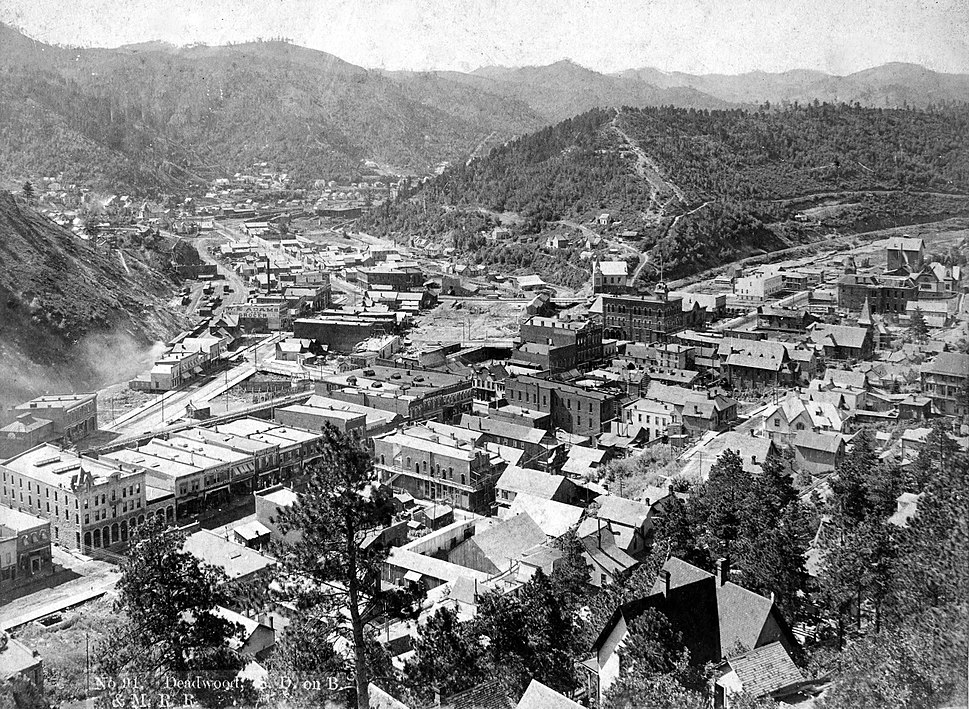 Deadwood birdseye circa 1890s