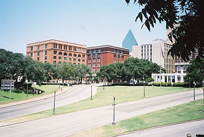 Dealey Plaza Historic District, Dallas