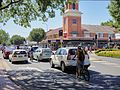 Dean Street with mixed traffic, Albury NSW.jpg