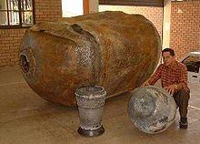Componenti di un razzo Delta II caduti in Sud Africa