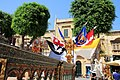 Decoration Independence square Victoria Gozo Malta 2014 1.jpg