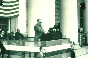 National Institutes of Health - Dedication of first six NIH buildings by President Franklin D. Roosevelt in 1940