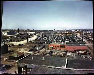 Defoe Shipbuilding Company - Defoe Shipbuilding Company yards 1944