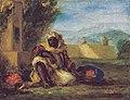 Delacroix - Marchand d'oranges au Maroc, 1852-1853.jpg