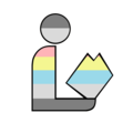 Demiflux Pride Library Logo.png