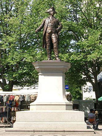 Friedrichshagen - Image: Denkmal Friedrich II. in Friedrichshagen