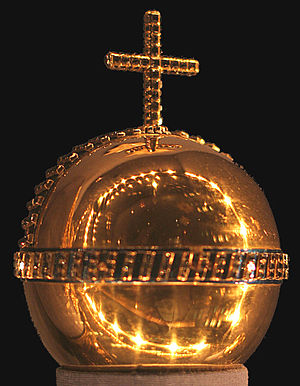 Danish Crown Regalia - Danish Globus Cruciger