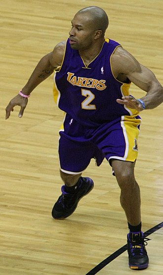 Derek Fisher - Fisher playing for the Lakers