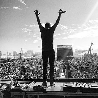 Gary Richards (music executive) - Destructo at HARD Summer 2013 in Los Angeles, CA