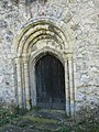 Detail of doorway in the tower, St Mary Magdalene's - geograph.org.uk - 1206749.jpg